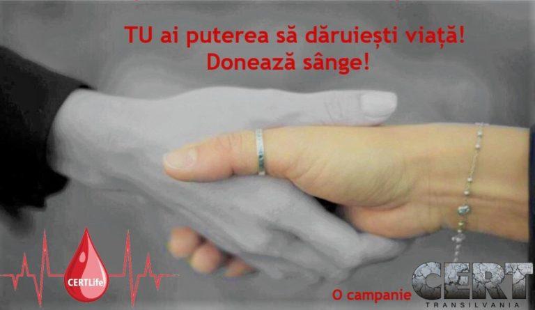 Luna donatorului CERT